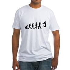 Evolution of Freedom Fitted T-Shirt