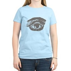 All Seeing Eye Womens Light T-Shirt