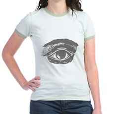 All Seeing Eye Jr Ringer T-Shirt