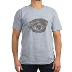 All Seeing Eye Mens Fitted Dark T-Shirt