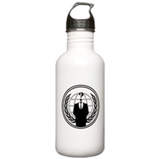 Anonymous Stainless Water Bottle 1 Liter