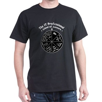 IT Response Wheel T-Shirt | Gifts For A Geek | Geek T-Shirts