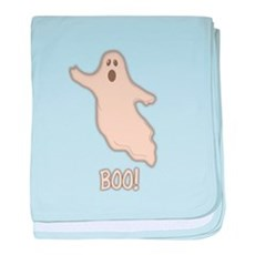Boo the Ghost baby blanket