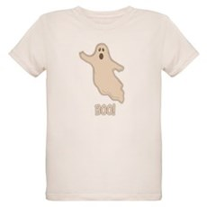 Boo the Ghost Organic Kids T-Shirt