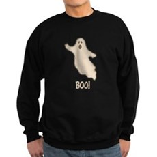 Boo the Ghost Dark Sweatshirt