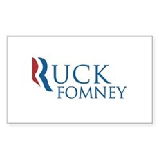 Ruck Fomney Rectangle Sticker