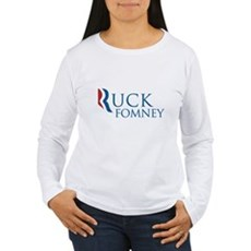 Ruck Fomney Womens Long Sleeve T-Shirt