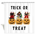 Trick or Treat Halloween Shower Curtains