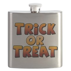 Trick or Treat Flask