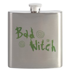 Bad Witch Flask