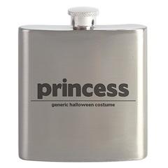 Generic princess Costume Flask
