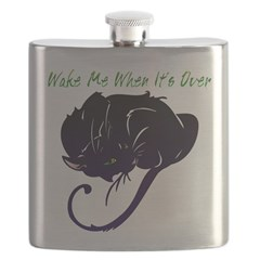 Wake Me When It's Over Flask