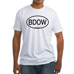 BDOW Barred Owl Alpha Code Fitted T-Shirt