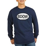 BDOW Barred Owl Alpha Code Long Sleeve Dark T-Shir