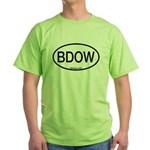 BDOW Barred Owl Alpha Code Green T-Shirt
