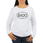BADO Barred Owl Alpha Code Women's Long Sleeve T-S