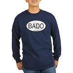 BADO Barred Owl Alpha Code Long Sleeve Dark T-Shir