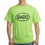 BADO Barred Owl Alpha Code Green T-Shirt