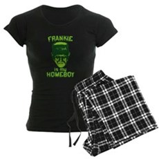 Frankie Is My Homeboy Womens Dark Pajamas