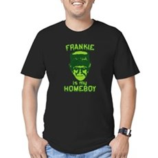 Frankie Is My Homeboy Mens Fitted Dark T-Shirt
