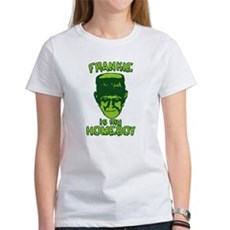 Frankie Is My Homeboy Womens T-Shirt