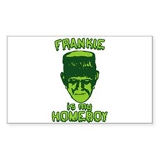 Frankie Is My Homeboy Rectangle Sticker