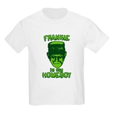 Frankie Is My Homeboy Kids Light T-Shirt