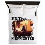 Extreme Firefighter Duvet Blanket Cover