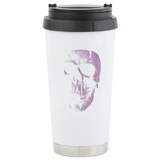 Purple Skull Stainless Steel Travel Mug