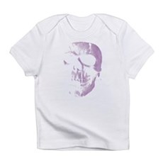 Purple Skull Infant T-Shirt