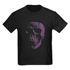 Purple Skull Kids T-Shirt