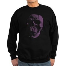 Purple Skull Dark Sweatshirt