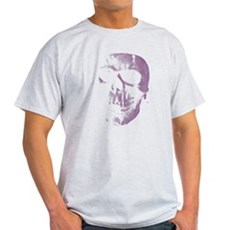 Purple Skull Light T-Shirt