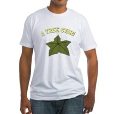 A Tree Star! Fitted T-Shirt