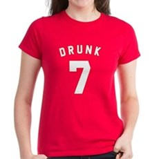 Drunk 7 Womens T-Shirt