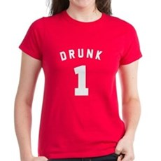 Custom Drunk Women's T-Shirt