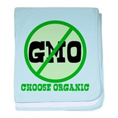 Say No to GMO baby blanket