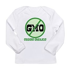 Say No to GMO Long Sleeve Infant T-Shirt
