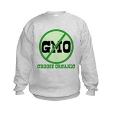 Say No to GMO Kids Sweatshirt