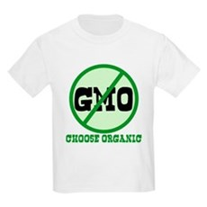 Say No to GMO Kids Light T-Shirt