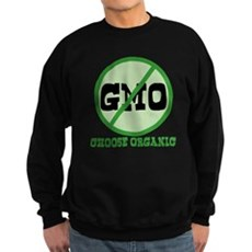 Say No to GMO Dark Sweatshirt