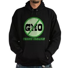 Say No to GMO Dark Hoodie