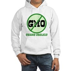 Say No to GMO Hooded Sweatshirt