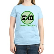 Say No to GMO Womens Light T-Shirt