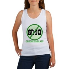 Say No to GMO Womens Tank Top