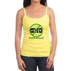 Say No to GMO Jr Spaghetti Tank