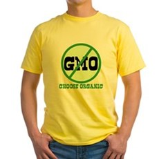 Say No to GMO Yellow T-Shirt