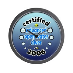 http://i2.cpcache.com/product/70740759/certified_advanced_open_water_diver_06_wall_clock.jpg?height=240&width=240