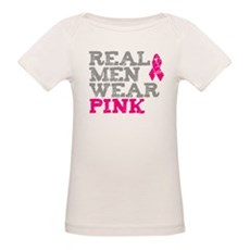 Real Men Wear Pink Organic Baby T-Shirt