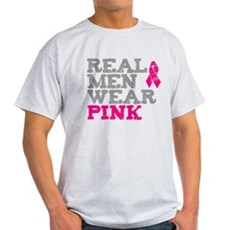Real Men Wear Pink Light T-Shirt